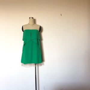 BCBGMAXAZRIA RUNWAY - Green Fei Fei Dress